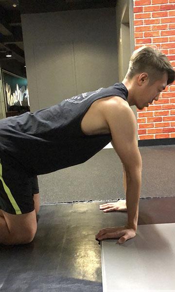 前腕筋群のストレッチ