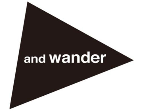 and wander ロゴ