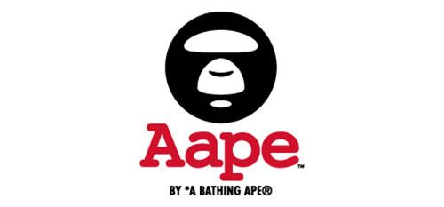 AAPE BY A BATHING APE ロゴ