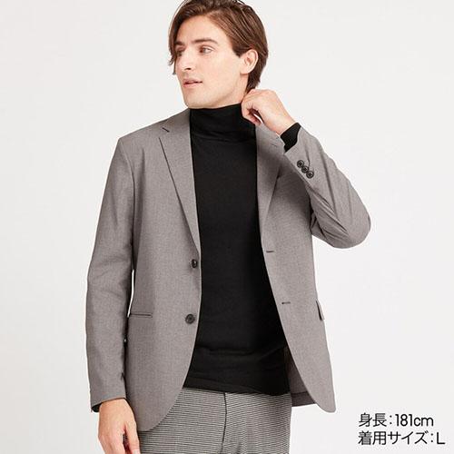 感動ジャケット(ウルトラライト・ウールライク・丈標準)