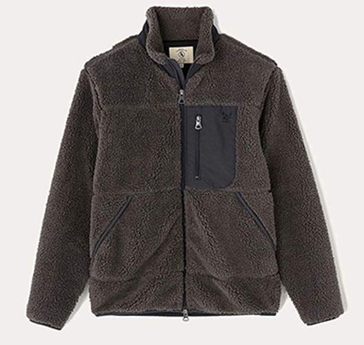ボアフリーススタンドフルジップジャケット