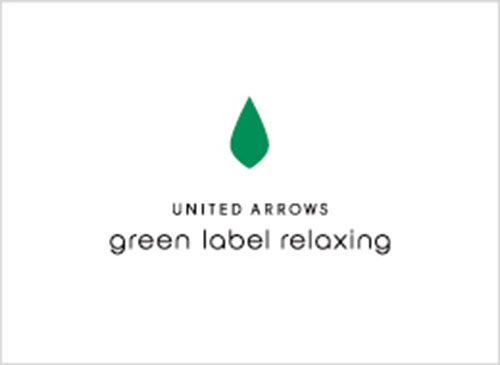 UNITED ARROWS gleen label relaxing ロゴ