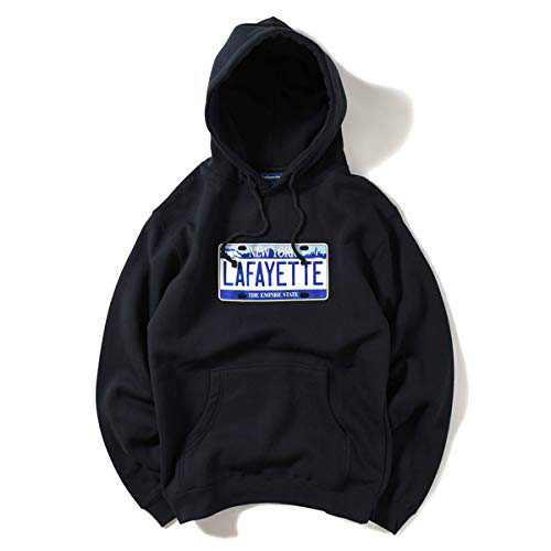 New York Number Plate Hooded Sweatshirt