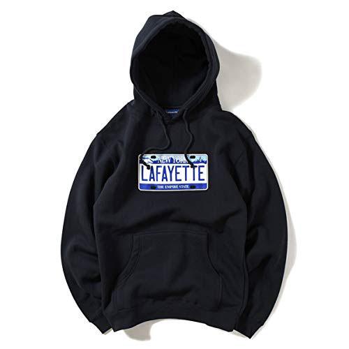 New York Number Plate Hooded Sweatshirt