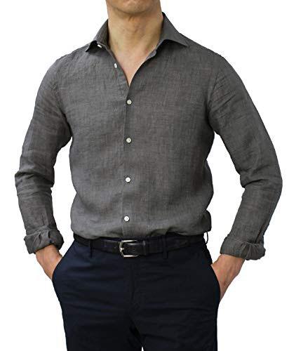 グレー シャツ