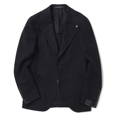 2B 柄織シングルジャケット