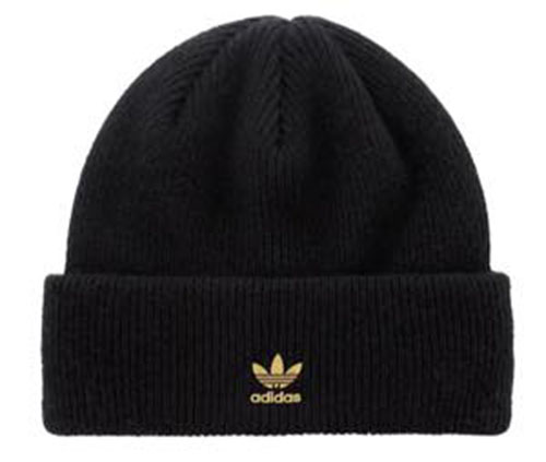 Metal Badge Beanie