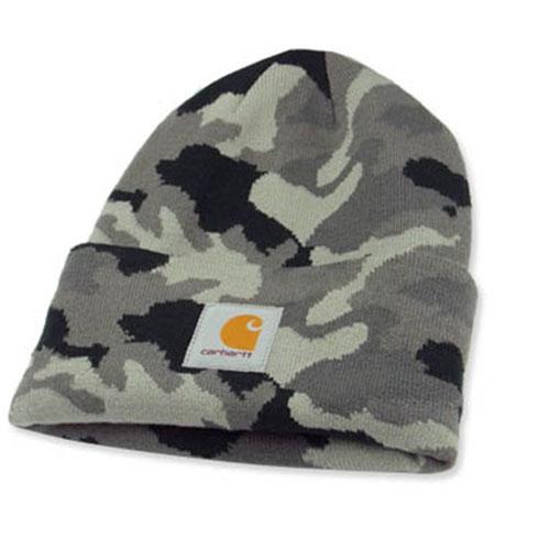 GRAY CAMO Watch Hat