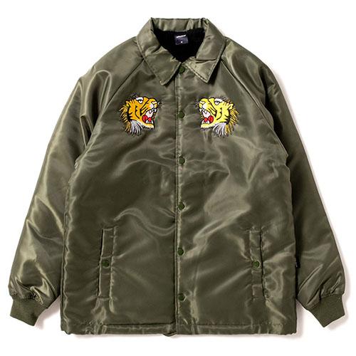 Tiger Style Boa Jacket OLIVE