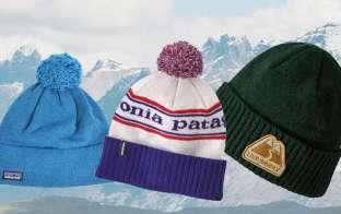 patagoniaニット帽