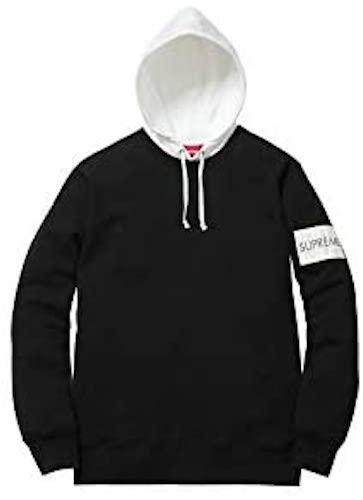 2Tone Hooded Crewneck Sweatshirt