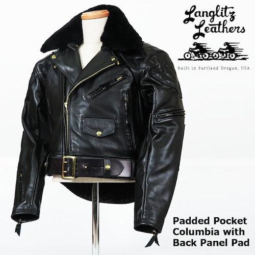 Padded Pocket Columbia with Fur & Back Panel Pad