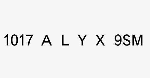 ALYX ロゴ