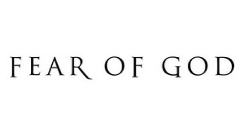 FEAR OF GOD ロゴ