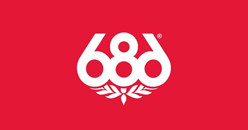 686 ロゴ