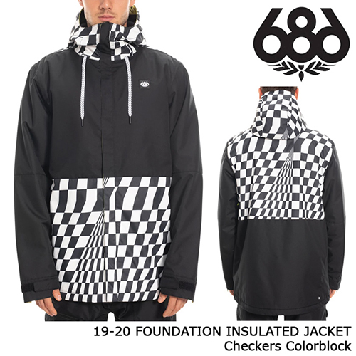 FOUNDATION INSULATED JACKET Checkers