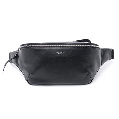 クラシックソフトカーフベルトバッグ
