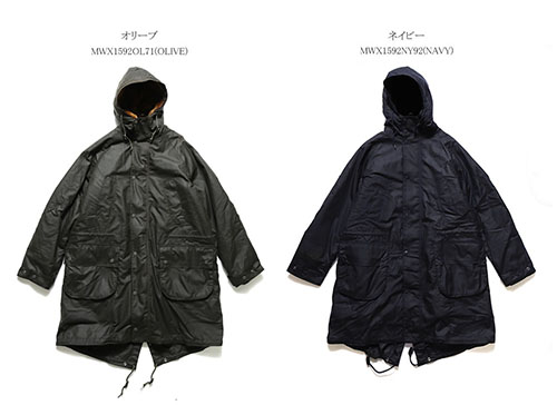 Barbour x Engineered Garments HIGHLAND WAX PARKA