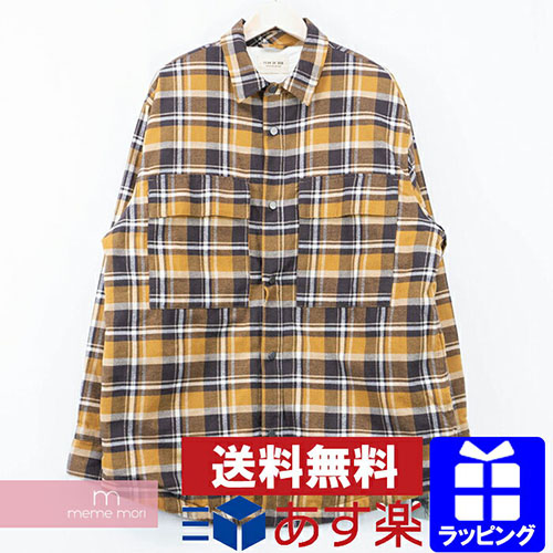 Sixth Collection Checked Flannel Shirt
