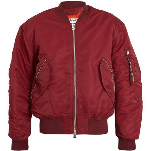Acne Studios/Makio padded bomber jacket