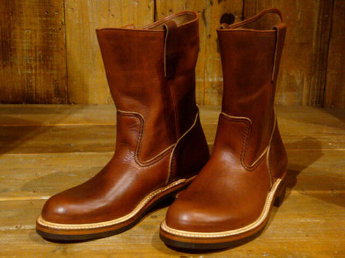 "LONE WOLF BOOTS/CAT'S PAW SOLE ""FARMER"