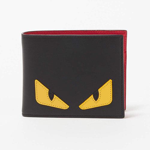 二つ折財布 NERO+GIALLO+ROSSO