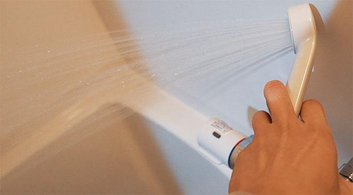 シャワー水圧 airbnb 弁天町