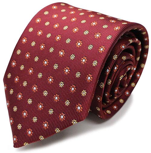 西陣織 シルク100% ジャガード織 小紋