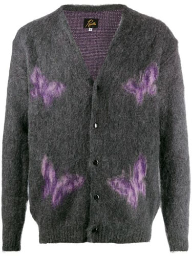 oversized butterfly cardigan