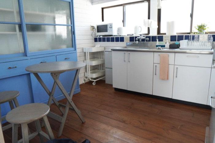 ブルーラグーン キッチン