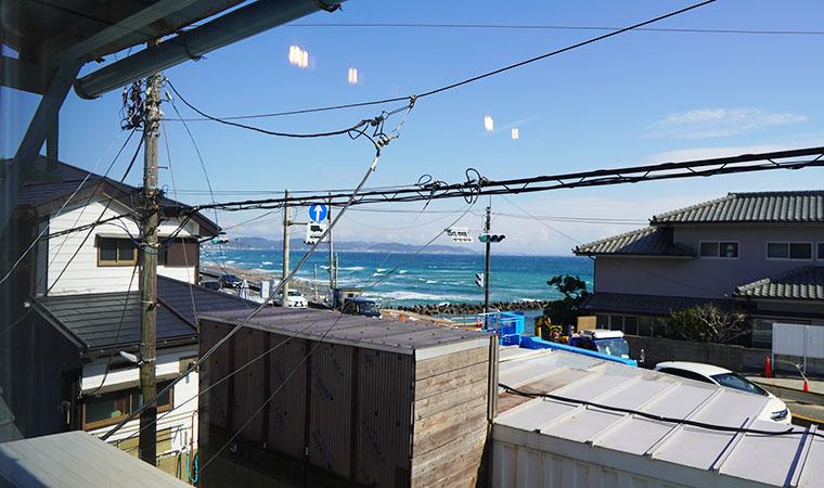 SHONAN GARDEN HOUSE 窓からの景色