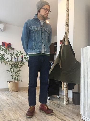 編み上げブーツ コーデ