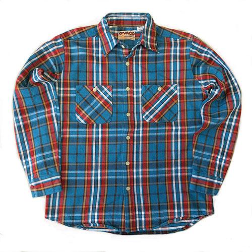 フランネルシャツ 18-4