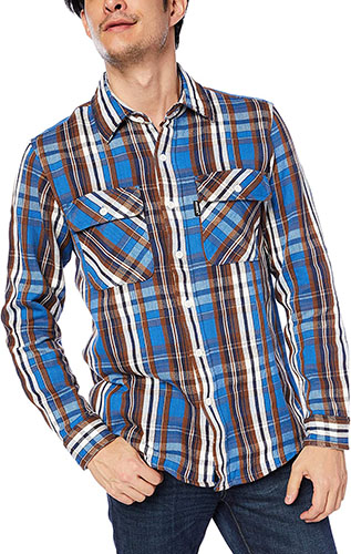 DAILY FLANNEL CHECK SHIRTS