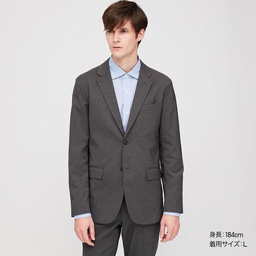 感動ジャケット(ウールライク・袖丈着丈標準)セットアップ可能