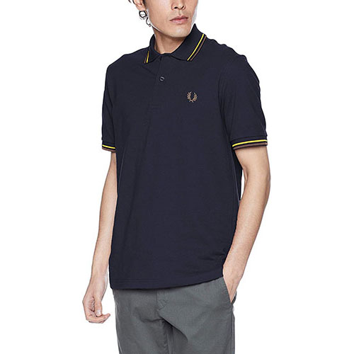 Twin Tipped Fred Perry Shirt M12N