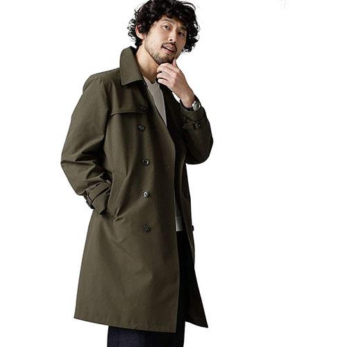 7days coat ダブルトレンチ