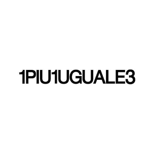 1PIU1UGUALE3 ロゴ