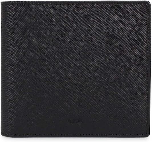 二つ折り財布 apc-pxbjq-h63340