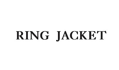 RING JACKET ロゴ