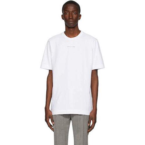 白ロゴTシャツ