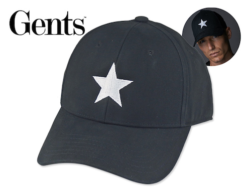 Lone Star Baseball Cap Black