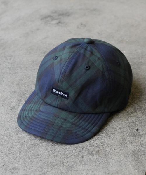 シェアトーン LOGO CHECK CAP