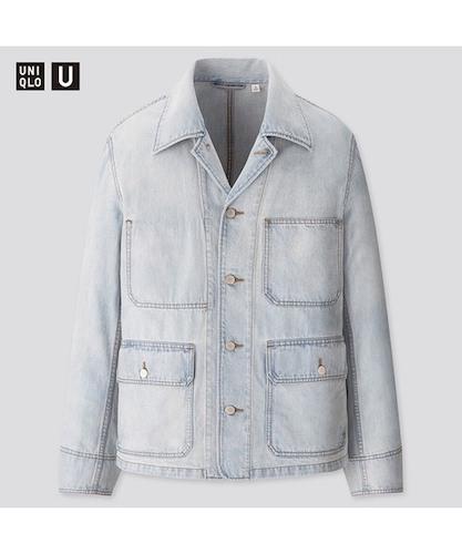 UNIQLO デニムワークジャケット