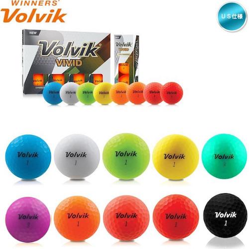 Volvik VIVID ボール
