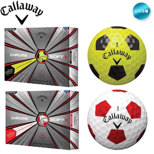 CallawayクロムソフトX トゥルービス