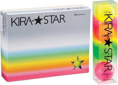 キャスコ/ゴルフボール KIRA STAR2