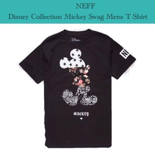 Neff ミッキーTシャツ