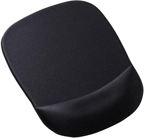 サンワサプライ 低反発リストレスト付きマウスパッド MPD-MU1NBK