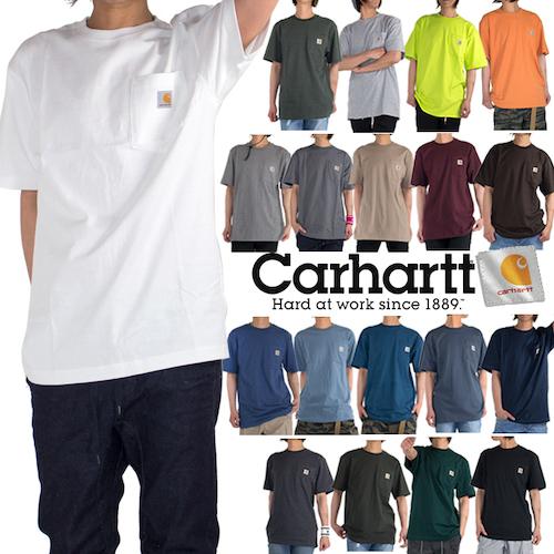 Carhartt/ポケット付きTシャツ